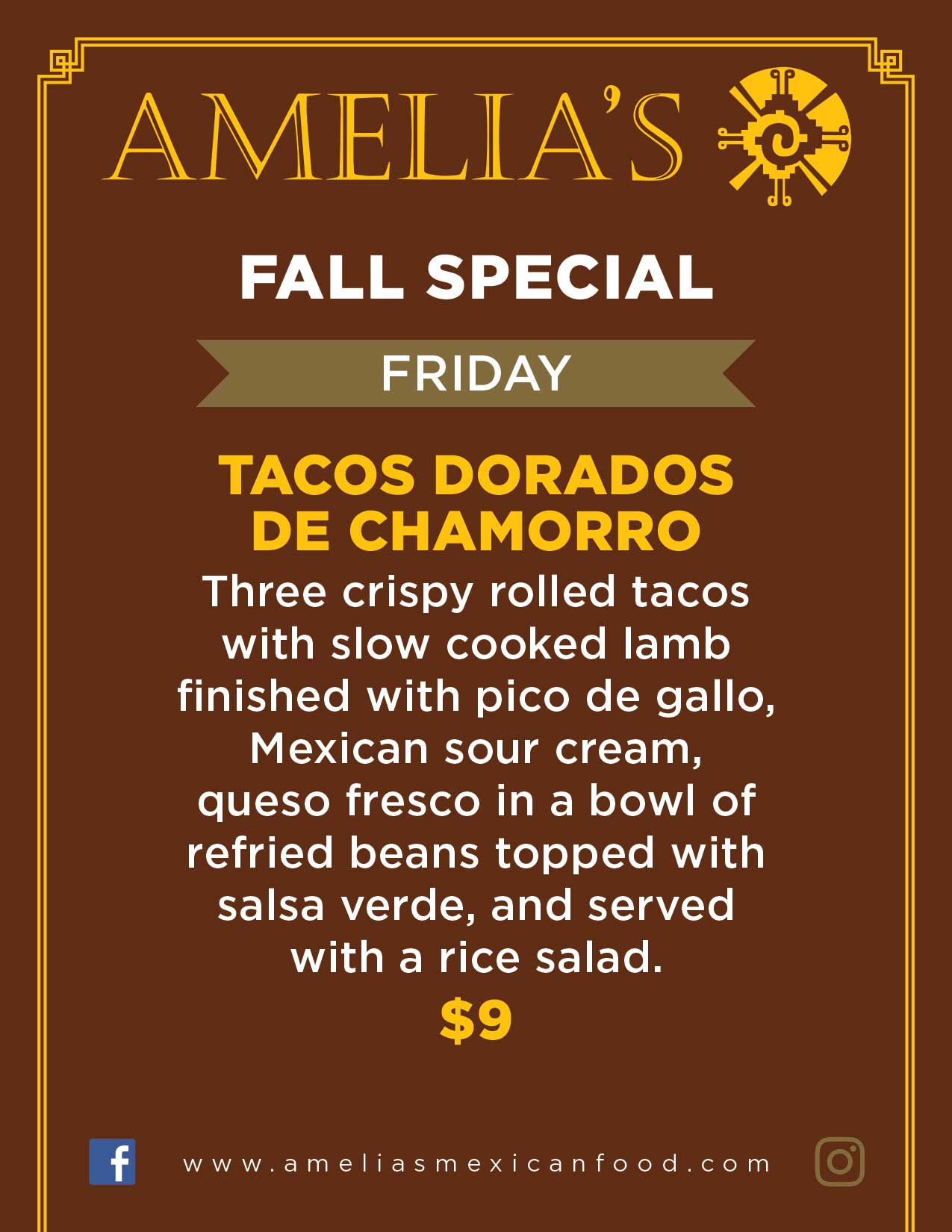image of friday specials