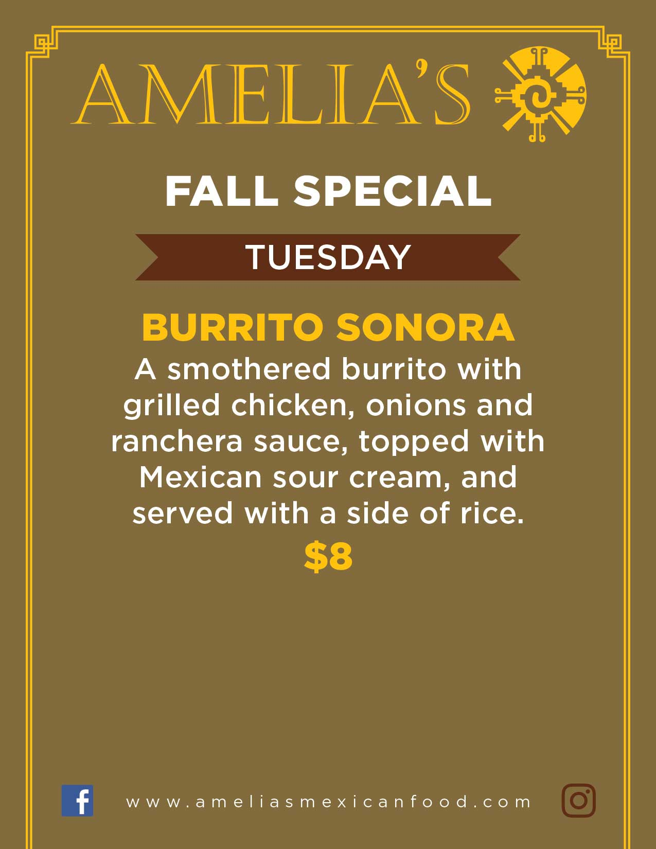 Image of Tuesday Specials