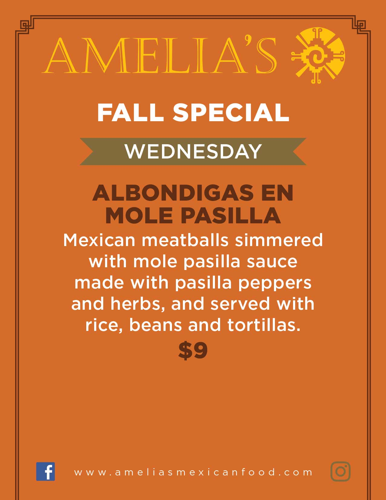 Image of Wednesday specials